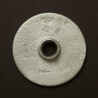 Half inch 12mm Galvanised Flange fitting F