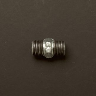 Half inch Gal 15mm Hex Nipple Fitting M&M