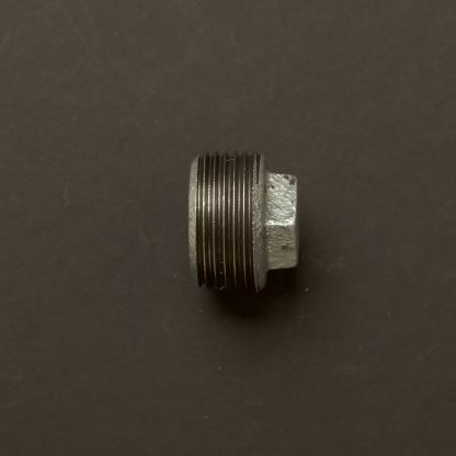 1 inch Gal 25mm Round plug fitting M