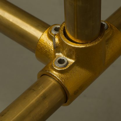 Brass Clothing Rack Powdercoated Fittings