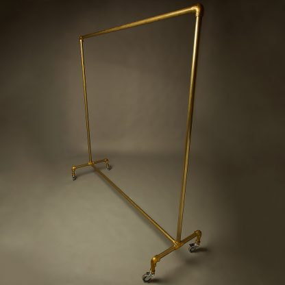 Brass Clothing Rack
