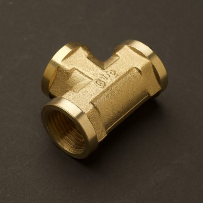 Half Inch Solid brass 15mm Tee Fitting F&F