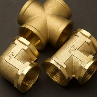 One inch cast brass fittings