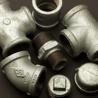 One inch galvanised fittings