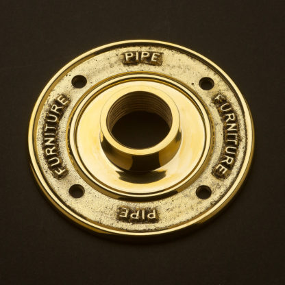 One inch Solid Brass 25mm Flange plate