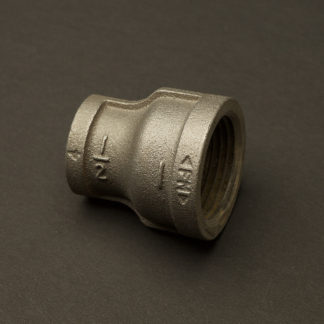 1 inch Black steel 25mm to Half Inch 12mm Reducing Coupler Fitting F&F