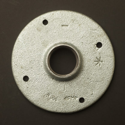 1 inch 25mm Galvanised drilled flange fitting