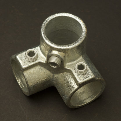 One Inch 34mm Corner Top Cross Side Outlet Elbow