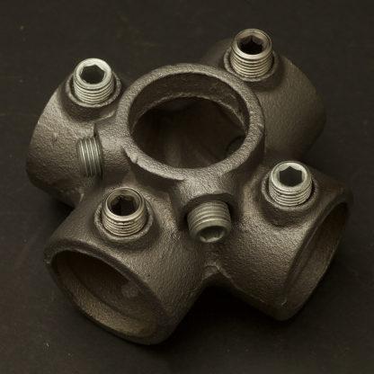 One Inch Black steel 34mm Cross Socket