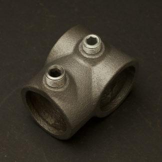One Inch Black steel 34mm short tee socket fitting
