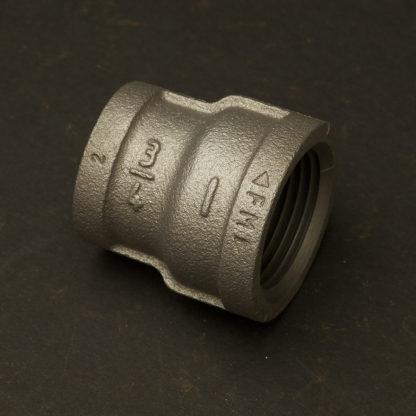 Three Quarter inch Black steel 20mm to one Inch 25mm Coupler F&F