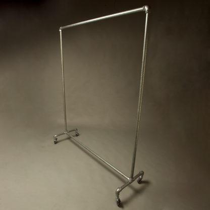Industrial Galvanised Pipe Clothing Rack