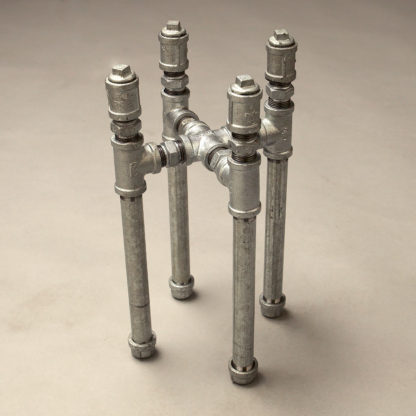 125mm Industrial Plumbing Pipe Plant Stand