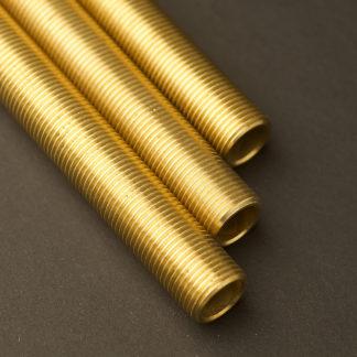 Half inch Solid Brass 15mm nipple M&M